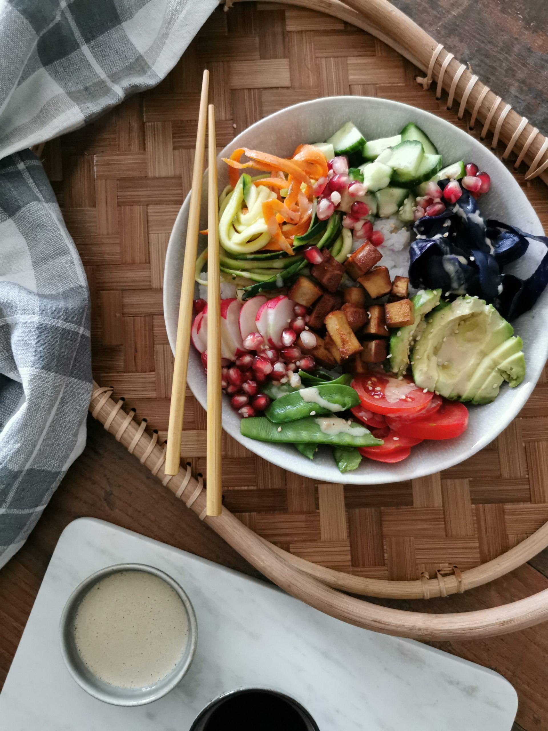 Sushi Bowl / Buddha Bowl – vegan